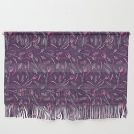 Pink Flowers Wall Hanging