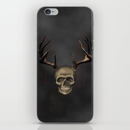 Visitor from HELL iPhone Skin