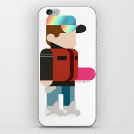Marty Deconstructed iPhone Skin