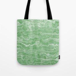 Egyptian Marble, Jade Green Tote Bag