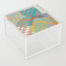 Triangle Pattern No. 11 Circles Acrylic Box