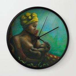 mumma love Wall Clock