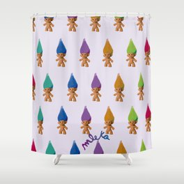 Trolls Shower Curtain