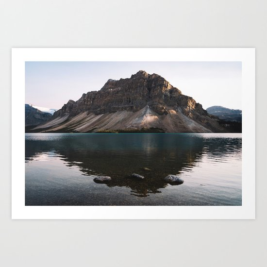 Bow Lake, Alberta by sparro42