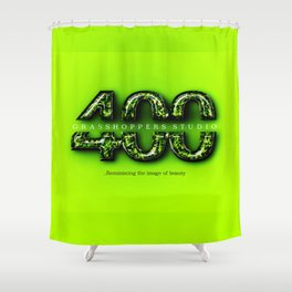 400 Grasshoppers Studio Shower Curtain