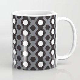 Geometric Pattern 249 (waves and dots) Coffee Mug