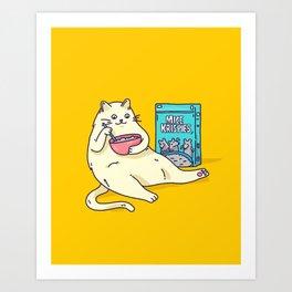 Mice Krispies Art Print