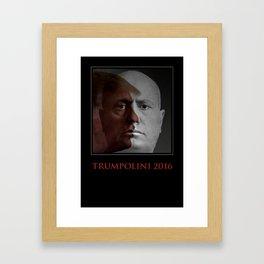 TRUMPOLINI 2016 Framed Art Print