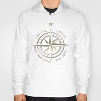 aragorn Hoodies featuring Not all those who wander are lost - J.R.R Tolkien - 2 by Augustinet
