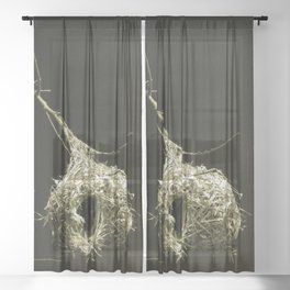 Weavers Nest Sheer Curtain