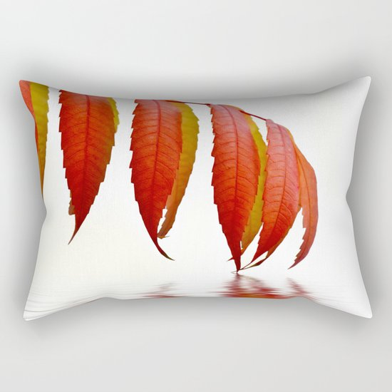 Autumn Foliage 183 Rectangular Pillow