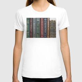 Dickens Books T-shirt