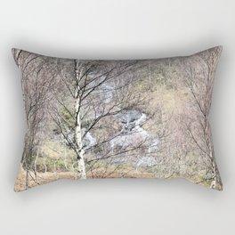 The solace of nature Rectangular Pillow