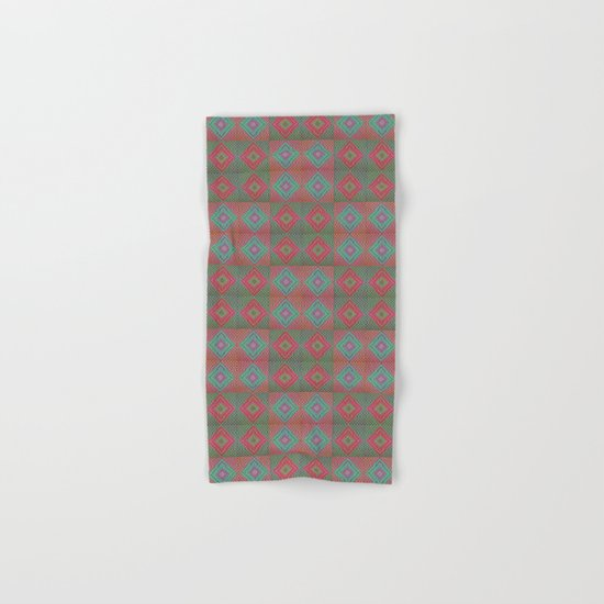 Colonial Rug Pattern Hand & Bath Towel