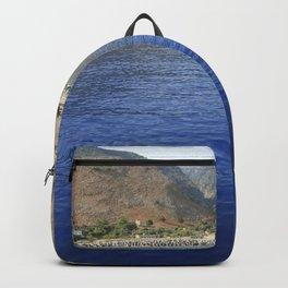 Crete, Greece 9 Backpack