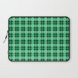 Green Tartan Laptop Sleeve