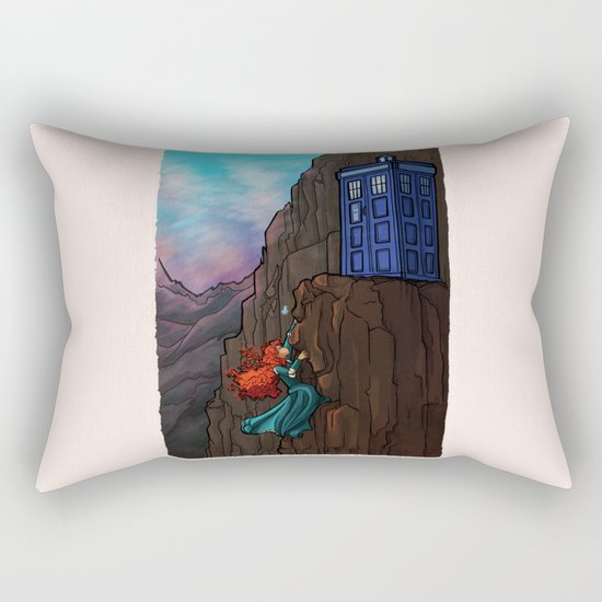 Touch the sky...and then the stars. Rectangular Pillow