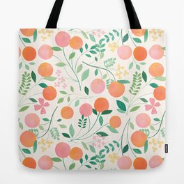 Vanilla Peaches Tote Bag