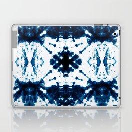 Velvet Shibori Blue Laptop & iPad Skin
