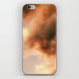 Dream Clouds unfocused iPhone Skin