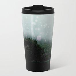 Luster Lake -Grey Travel Mug