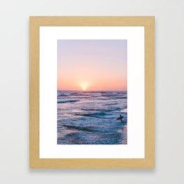 Take to the S E A Framed Art Print