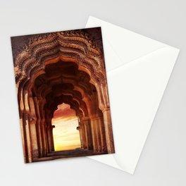 Arch Of Lotus Mahal At Hampi, Karnataka, India Stationery Cards