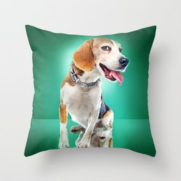 Super Pets Series 1 - Super Buckley Throw Pillow