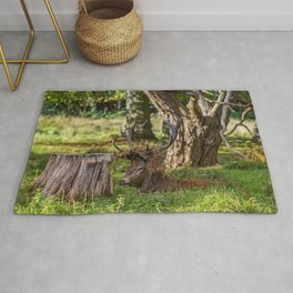 The Stag. Rug