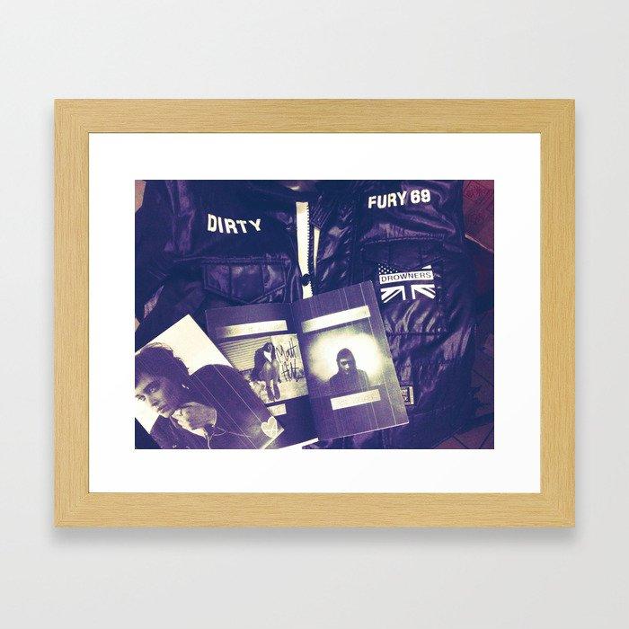 Dirty Fury 69 mixtape Framed Art Print