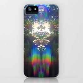 Galactic Light Beings iPhone Case