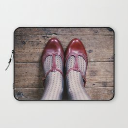 The Red Shoes Laptop Sleeve