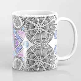 Multi Zentangle Zendoodle Zenart Design Coffee Mug