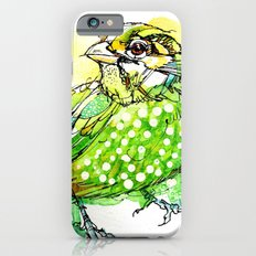 Australian Green Catbird  Slim Case iPhone 6s