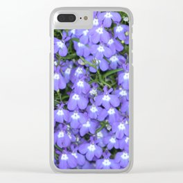 Early spring Lobelia Clear iPhone Case