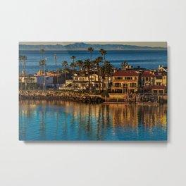 Newport Peninsula Sunrise Metal Print
