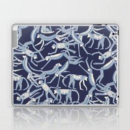 monkey blue Laptop & iPad Skin