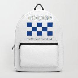 Police, Policia, Polizia, Garda,RCMP Backpack