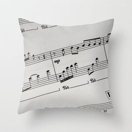 Staff Throw Pillow