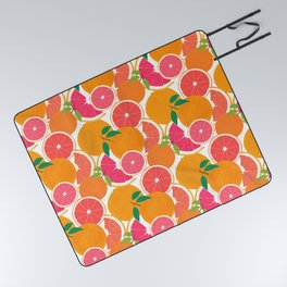 Grapefruit Harvest Picnic Blanket