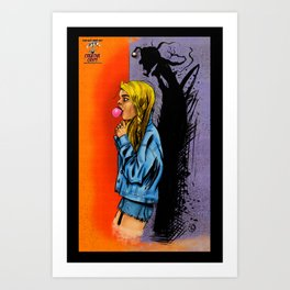 They Live In The Shadows Art Print