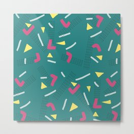 Funny Scribbles #society6 #decor #buyart Metal Print