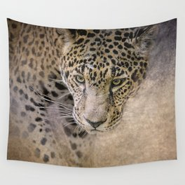 Stalking Her Prey - Wildlife - Leopard Wall Tapestry
