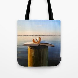 A Book-Lover's Vacation Tote Bag