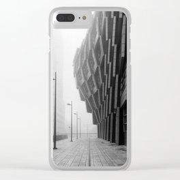 Warped Building Clear iPhone Case