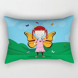 i heart butterflies Rectangular Pillow