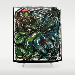 Johnny Cthulhu Shower Curtain