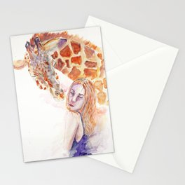 Simple kiss Stationery Cards