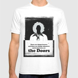 Black Brush - In between are the Doors T-shirt
