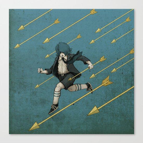 Run. Canvas Print